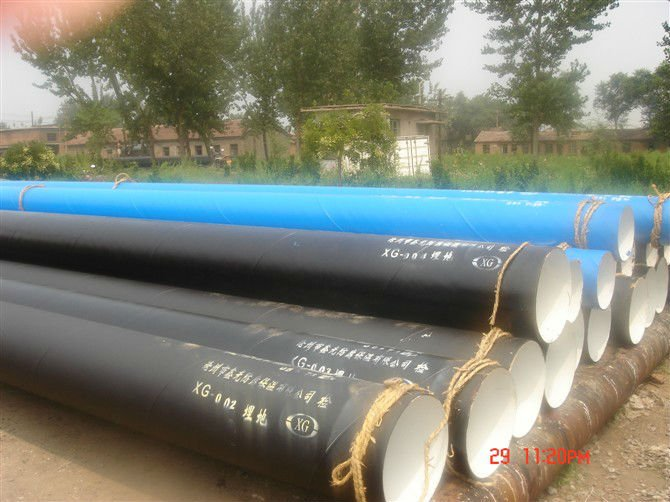 Spiral welded pipe water pipeline AWWA C200